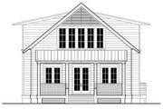Beach Style House Plan - 3 Beds 3 Baths 2484 Sq/Ft Plan #443-3 Exterior - Other Elevation