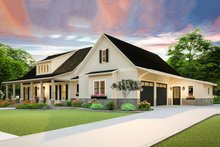 Home Plan - Farmhouse Exterior - Front Elevation Plan #406-9653