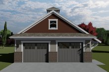 Dream House Plan - Traditional Exterior - Front Elevation Plan #1060-98