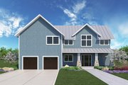 Farmhouse Style House Plan - 3 Beds 2.5 Baths 2580 Sq/Ft Plan #1068-3 Exterior - Front Elevation