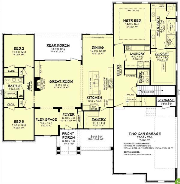 Dream House Plan - Farmhouse Floor Plan - Other Floor Plan #430-195