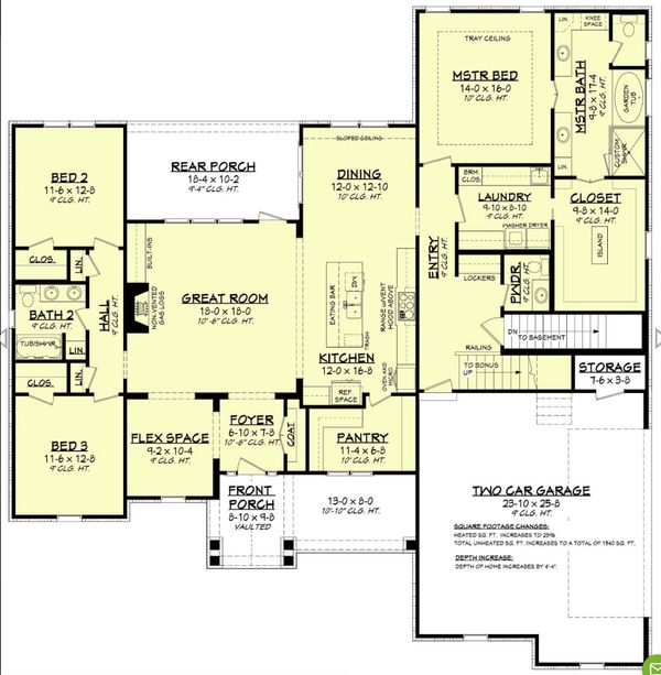Farmhouse Floor Plan - Other Floor Plan Plan #430-195