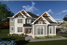 Dream House Plan - Craftsman Exterior - Front Elevation Plan #70-1278