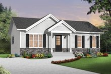 Home Plan - Ranch Exterior - Front Elevation Plan #23-2663