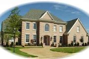 Traditional Style House Plan - 4 Beds 4 Baths 4228 Sq/Ft Plan #81-1286 Exterior - Front Elevation