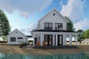 Farmhouse Style House Plan - 2 Beds 2 Baths 1757 Sq/Ft Plan #455-208 Exterior - Rear Elevation