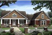 Craftsman Style House Plan - 4 Beds 2.5 Baths 2447 Sq/Ft Plan #21-308