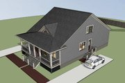 Cottage Style House Plan - 2 Beds 2 Baths 2244 Sq/Ft Plan #79-241 Exterior - Other Elevation