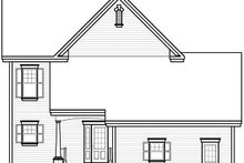 House Plan Design - Farmhouse Exterior - Rear Elevation Plan #23-840