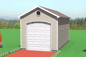 Traditional Exterior - Front Elevation Plan #75-201