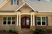 Craftsman Style House Plan - 5 Beds 5 Baths 3644 Sq/Ft Plan #437-105 Exterior - Front Elevation