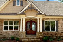 Dream House Plan - Craftsman Exterior - Front Elevation Plan #437-105