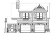 Country Style House Plan - 1 Beds 1 Baths 900 Sq/Ft Plan #22-605