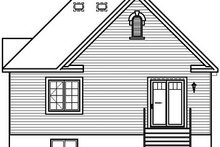 Dream House Plan - Traditional Exterior - Rear Elevation Plan #23-795