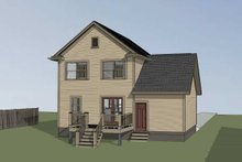 Country Exterior - Other Elevation Plan #79-271