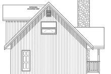House Plan Design - Cottage Exterior - Rear Elevation Plan #126-193