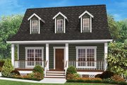 Farmhouse Style House Plan - 2 Beds 2 Baths 900 Sq/Ft Plan #430-4 Exterior - Front Elevation