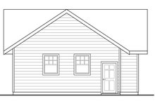 Traditional Exterior - Other Elevation Plan #124-992