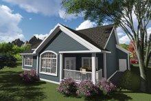 Ranch Exterior - Rear Elevation Plan #70-1245