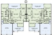 Traditional Style House Plan - 4 Beds 2.5 Baths 2000 Sq/Ft Plan #17-2485 Floor Plan - Main Floor Plan