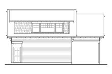 Craftsman Exterior - Rear Elevation Plan #124-932
