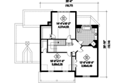 Country Style House Plan - 3 Beds 1 Baths 2273 Sq/Ft Plan #25-4764 Floor Plan - Upper Floor Plan