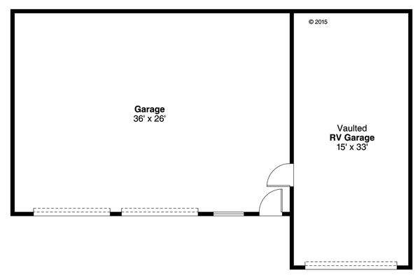 Traditional Floor Plan - Main Floor Plan Plan #124-996