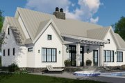 Farmhouse Style House Plan - 4 Beds 3 Baths 2150 Sq/Ft Plan #51-1135 Exterior - Other Elevation
