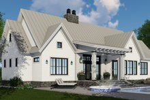 Dream House Plan - Farmhouse Exterior - Other Elevation Plan #51-1135