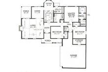 Ranch Floor Plan - Main Floor Plan Plan #45-375