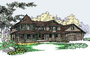 Victorian Exterior - Front Elevation Plan #60-568