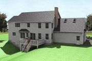 Farmhouse Style House Plan - 3 Beds 2.5 Baths 2620 Sq/Ft Plan #75-147 Exterior - Rear Elevation