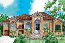 Home Plan - Mediterranean Exterior - Front Elevation Plan #930-172