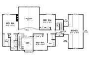 Country Style House Plan - 4 Beds 3.5 Baths 3419 Sq/Ft Plan #929-44 Floor Plan - Upper Floor Plan