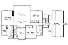 Country Floor Plan - Upper Floor Plan Plan #929-44