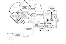 Traditional Floor Plan - Main Floor Plan Plan #453-45