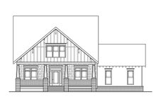 Dream House Plan - Craftsman Exterior - Front Elevation Plan #419-282