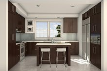 House Blueprint - Traditional Interior - Kitchen Plan #497-41