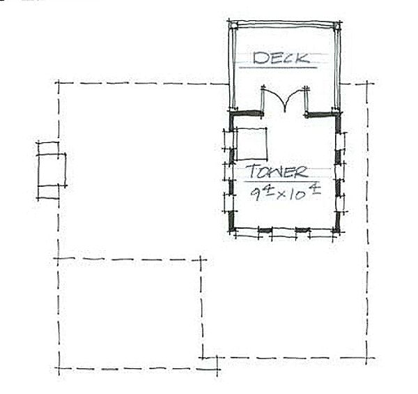 Cottage Style House Plan - 3 Beds 3 Baths 1841 Sq/Ft Plan #464-9 Floor Plan - Other Floor Plan