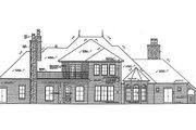 European Style House Plan - 4 Beds 4.5 Baths 4214 Sq/Ft Plan #310-683