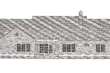 Farmhouse Exterior - Rear Elevation Plan #406-271