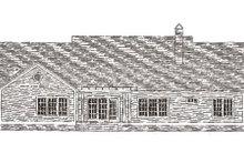 Dream House Plan - Farmhouse Exterior - Rear Elevation Plan #406-271