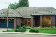 Home Plan - Ranch Exterior - Front Elevation Plan #124-289
