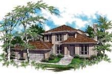 Prairie Exterior - Front Elevation Plan #48-324
