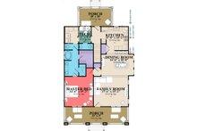 Craftsman Floor Plan - Main Floor Plan Plan #63-380