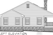 Ranch Style House Plan - 4 Beds 3 Baths 2870 Sq/Ft Plan #123-106 Exterior - Rear Elevation