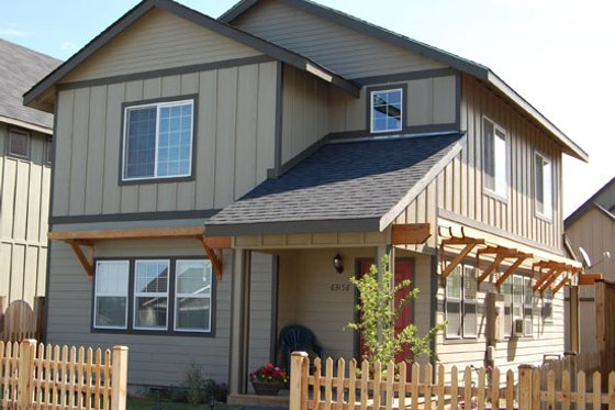 Craftsman Exterior - Front Elevation Plan #434-19