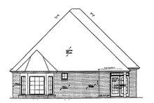 Home Plan - European Exterior - Rear Elevation Plan #310-681