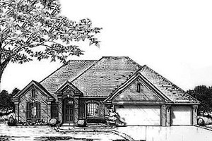 Traditional Exterior - Front Elevation Plan #310-926