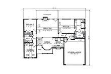Country Floor Plan - Main Floor Plan Plan #42-400